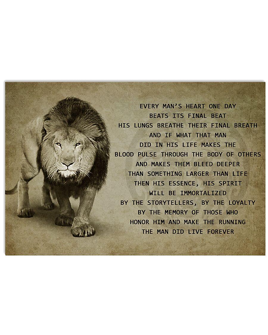 LION 17x11 Poster