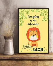 LION - LITTLE LION 16x24 Poster lifestyle-poster-3