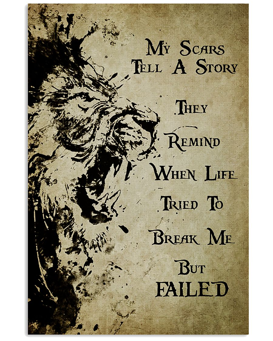 LION - MY SCARS TELL A STORY 11x17 Poster