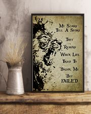 LION - MY SCARS TELL A STORY 11x17 Poster lifestyle-poster-3