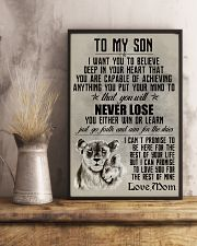 LION - TO MY SON 16x24 Poster lifestyle-poster-3
