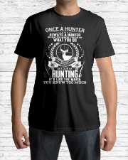 FUNNY HUNTING SHIRT Classic T-Shirt lifestyle-mens-crewneck-front-1
