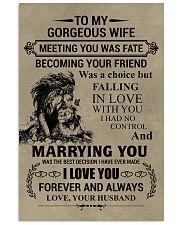 LION - TO MY GORGEOUS WIFE 11x17 Poster thumbnail