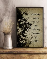 LION - IT IS NOT DEATH 16x24 Poster lifestyle-poster-3