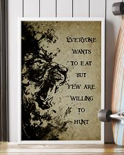 LION - IT IS NOT DEATH 16x24 Poster lifestyle-poster-4
