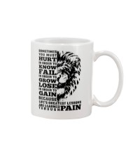 LION - SOMETIMES YOU MUST HURT Mug thumbnail
