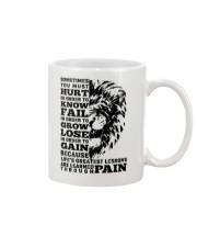 LION - SOMETIMES YOU MUST HURT Mug thumbnail