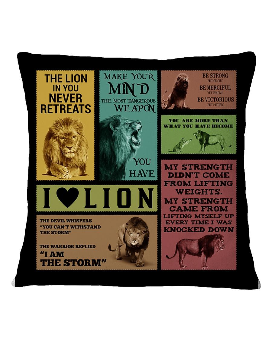 LION Square Pillowcase