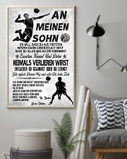 volleyball poster-to son-never lose german vs3 11x17 Poster lifestyle-poster-1