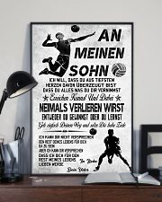 volleyball poster-to son-never lose german vs3 11x17 Poster lifestyle-poster-2