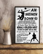volleyball poster-to son-never lose german vs3 11x17 Poster lifestyle-poster-3