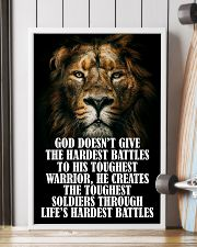 LION - GOD DOESN'T GIVE 16x24 Poster lifestyle-poster-4
