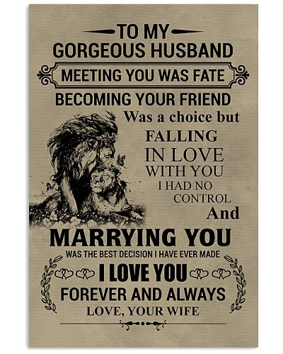 LION - TO MY GORGEOUS HUSBAND