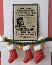 LION - TO MY GORGEOUS HUSBAND 16x24 Poster lifestyle-holiday-poster-4