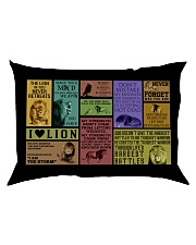 LION Rectangular Pillowcase back