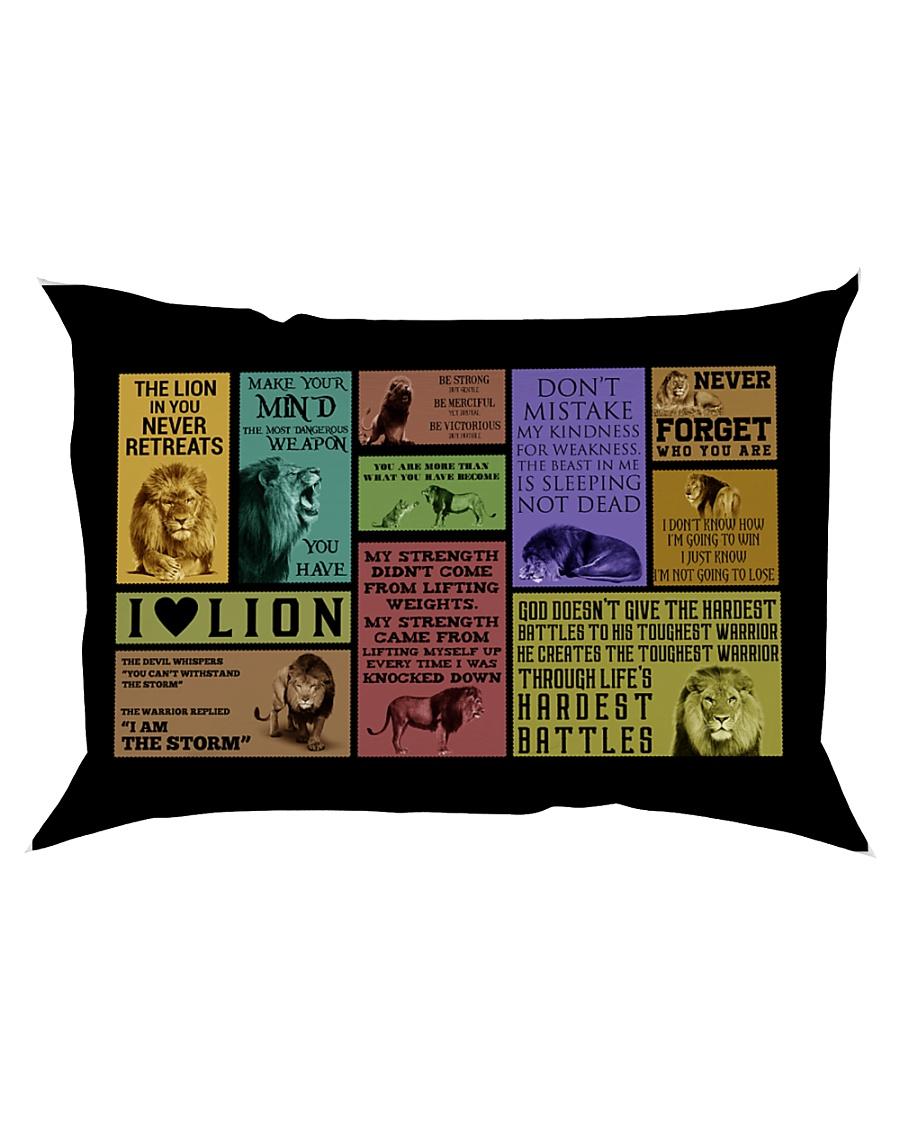 LION Rectangular Pillowcase
