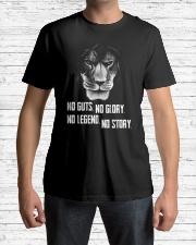 LION - NOT GUTS NO GLORY Classic T-Shirt lifestyle-mens-crewneck-front-1