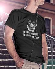 LION - NOT GUTS NO GLORY Classic T-Shirt lifestyle-mens-crewneck-front-5