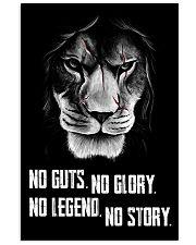LION - NOT GUTS NO GLORY 11x17 Poster thumbnail