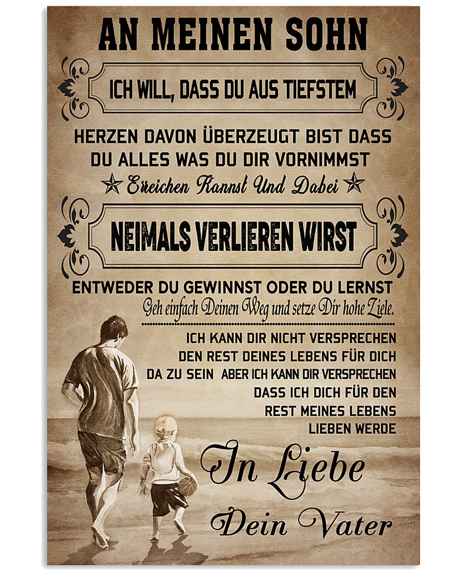 Make it the meaningful gift to your son 11x17 Poster