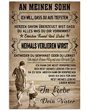 Make it the meaningful gift to your son 11x17 Poster front