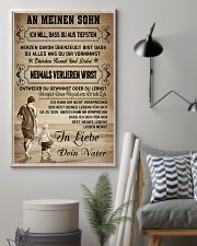Make it the meaningful gift to your son 11x17 Poster lifestyle-poster-1
