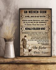 Make it the meaningful gift to your son 11x17 Poster lifestyle-poster-3