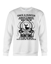FUNNY HUNTING SHIRT Crewneck Sweatshirt tile