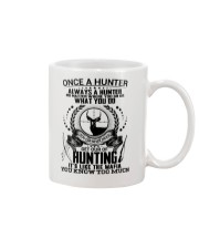 FUNNY HUNTING SHIRT Mug tile