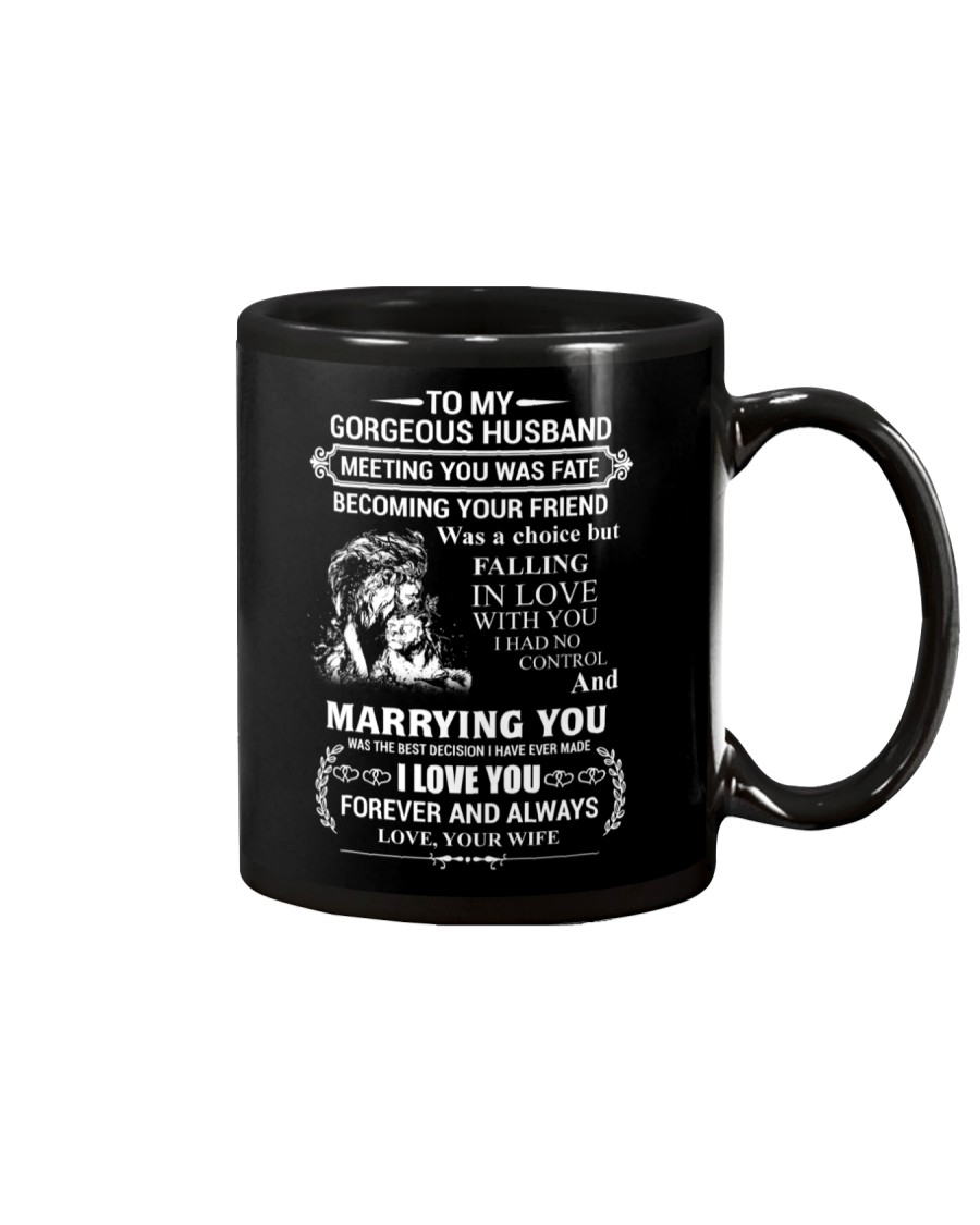 LION - TO MY GORGEOUS HUSBAND Mug