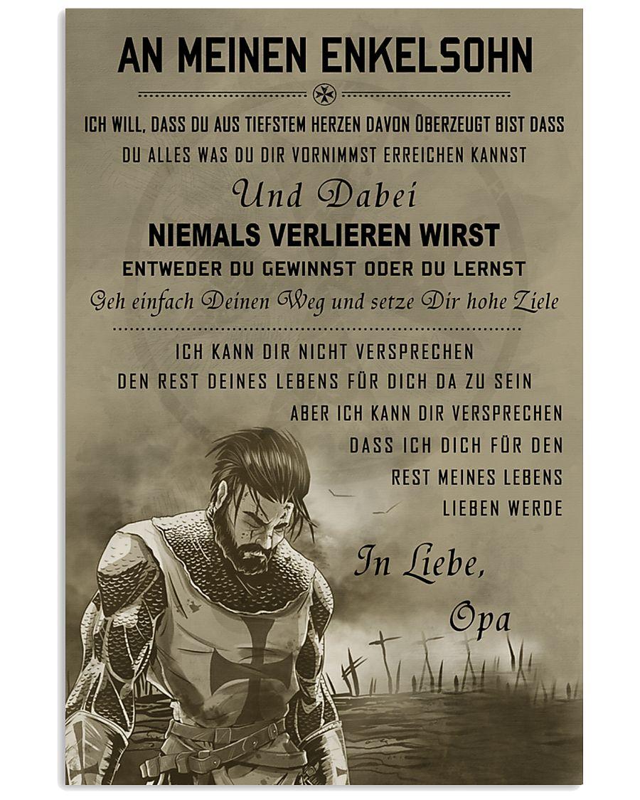 Poster for grandson Never lose DE version  16x24 Poster