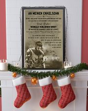 Poster for grandson Never lose DE version  16x24 Poster lifestyle-holiday-poster-4