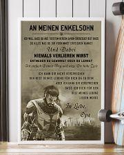 Poster for grandson Never lose DE version  16x24 Poster lifestyle-poster-4