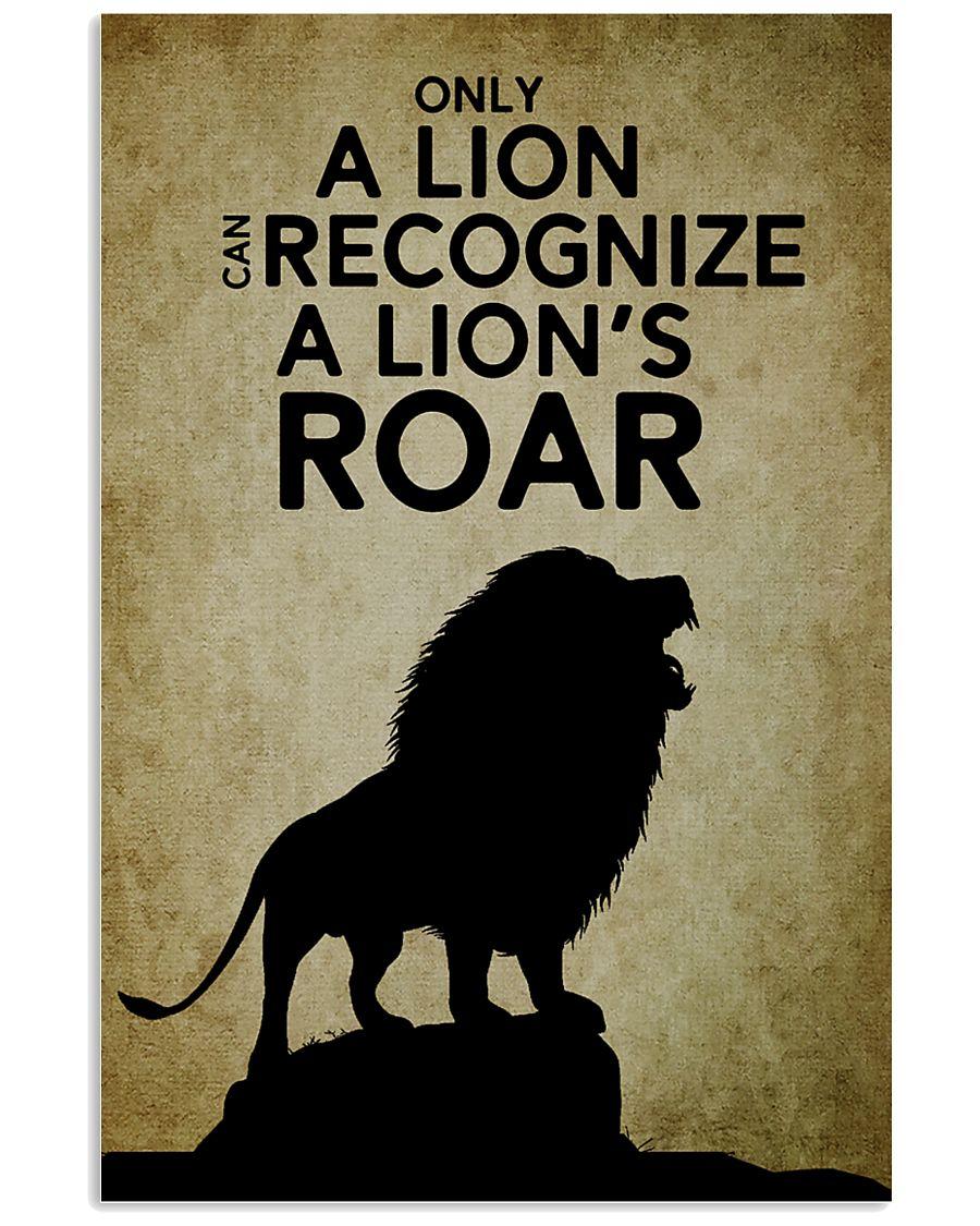 LION - PAIN 16x24 Poster