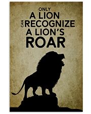 LION - PAIN 16x24 Poster front