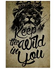 LION 16x24 Poster front