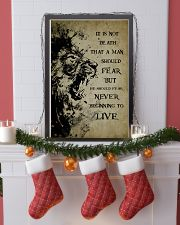 LION - IT IS NOT DEATH 16x24 Poster lifestyle-holiday-poster-4