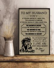 LION - TO MY HUSBAND 16x24 Poster lifestyle-poster-3
