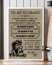 LION - TO MY HUSBAND 16x24 Poster lifestyle-poster-4