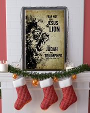 LION - FEAR NOT FOR JESUS 11x17 Poster lifestyle-holiday-poster-4