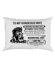 LION - TO MY GORGEOUS WIFE Rectangular Pillowcase thumbnail