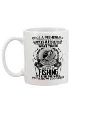 FUNNY FISHING Mug back