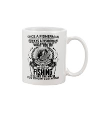 FUNNY FISHING Mug tile