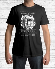 LION - IF THEY STAND BEHIND YOU Classic T-Shirt lifestyle-mens-crewneck-front-1