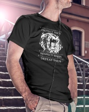 LION - IF THEY STAND BEHIND YOU Classic T-Shirt lifestyle-mens-crewneck-front-5