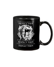 LION - IF THEY STAND BEHIND YOU Mug thumbnail