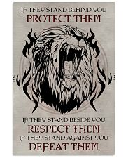 LION - IF THEY STAND BEHIND YOU 11x17 Poster thumbnail