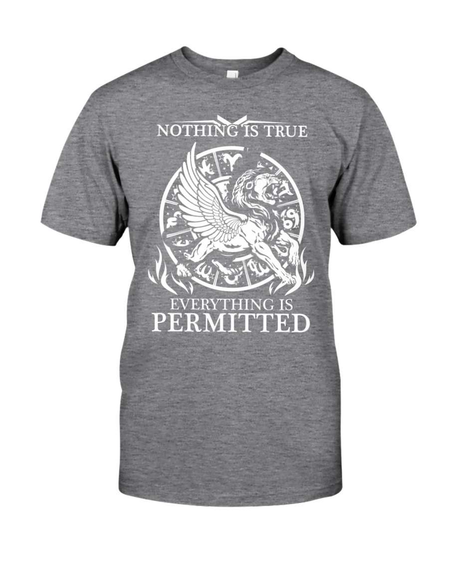 LION - NOTHING IS TRUE Classic T-Shirt