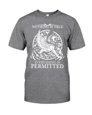 LION - NOTHING IS TRUE Classic T-Shirt front