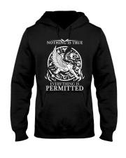 LION - NOTHING IS TRUE Hooded Sweatshirt thumbnail